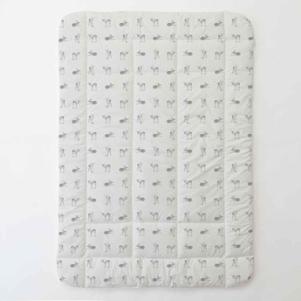 Product image for Silver Gray Fawns Toddler Comforter