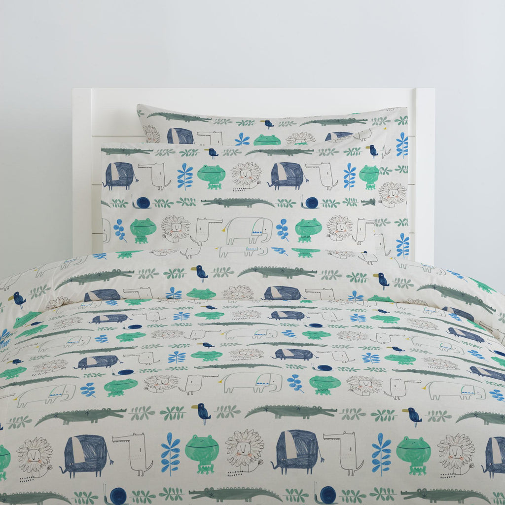 Product image for Safari Friends Duvet Cover