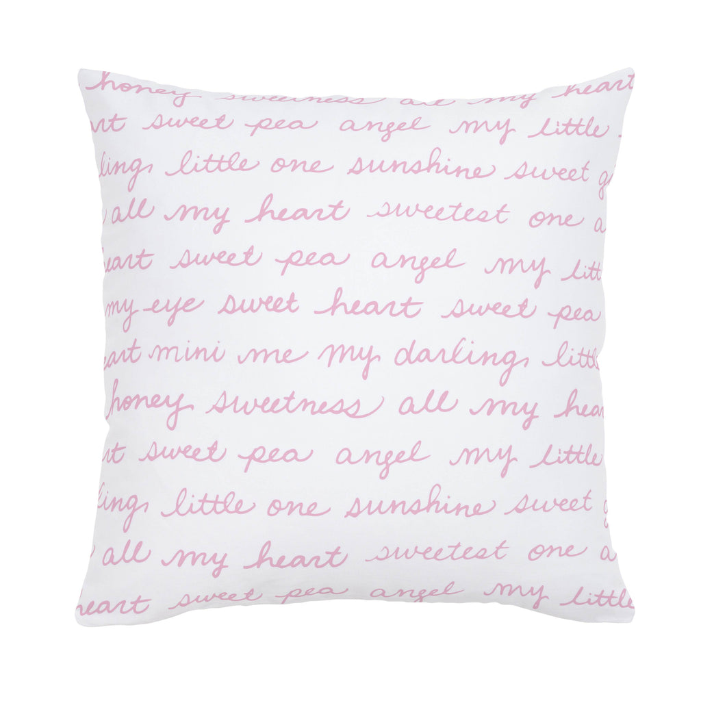 Product image for Bubblegum Pink Sweet Girl Throw Pillow