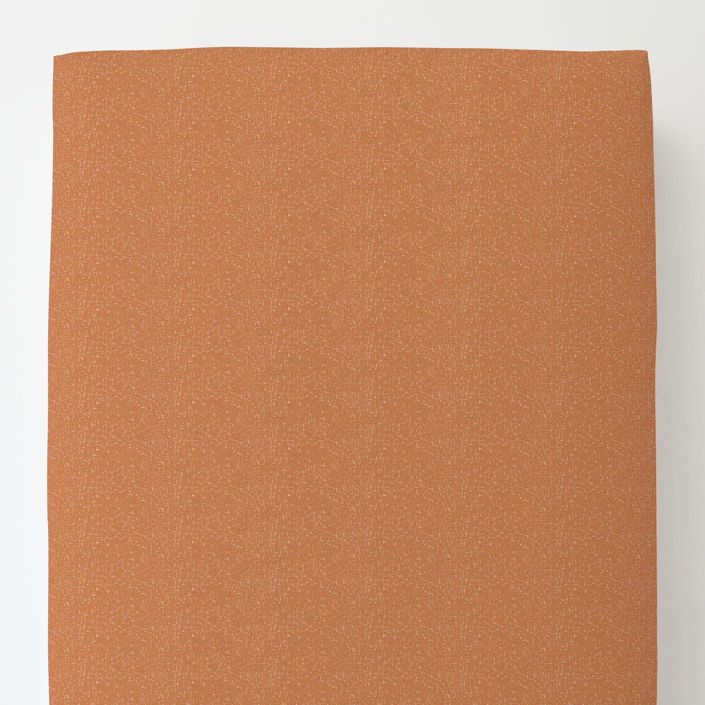 Product image for Fox Orange Heather Toddler Sheet Bottom Fitted