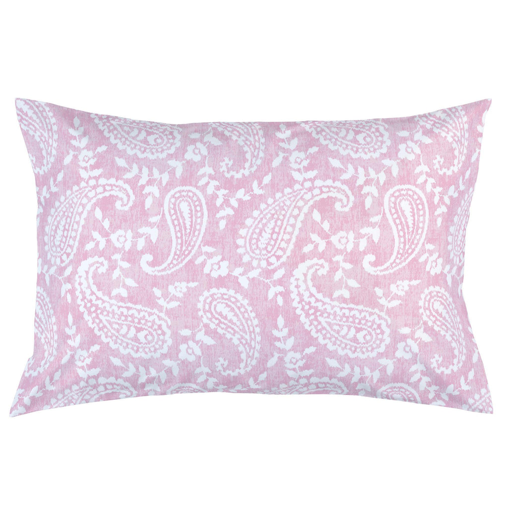 Product image for Pink Paisley Pillow Case
