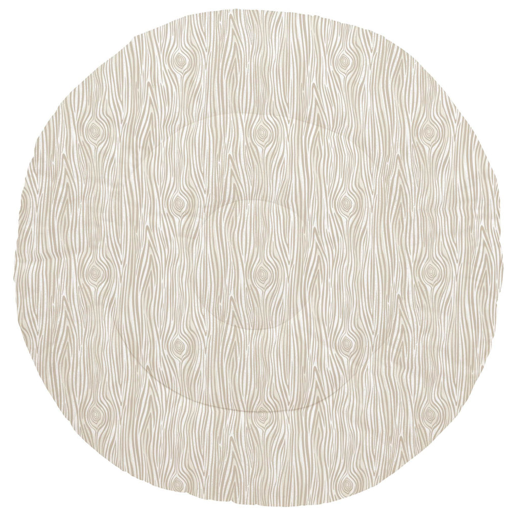 Product image for Taupe Woodgrain Baby Play Mat