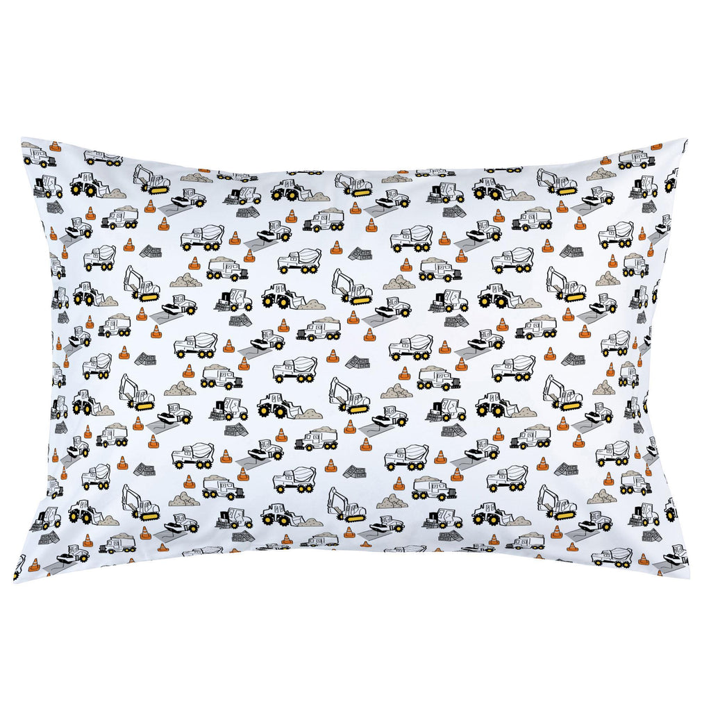 Product image for Construction Trucks Pillow Case