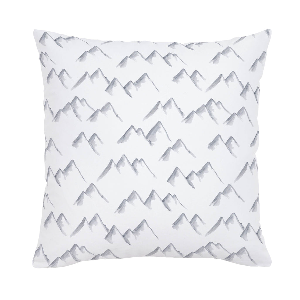 Product image for Watercolor Mountains Throw Pillow