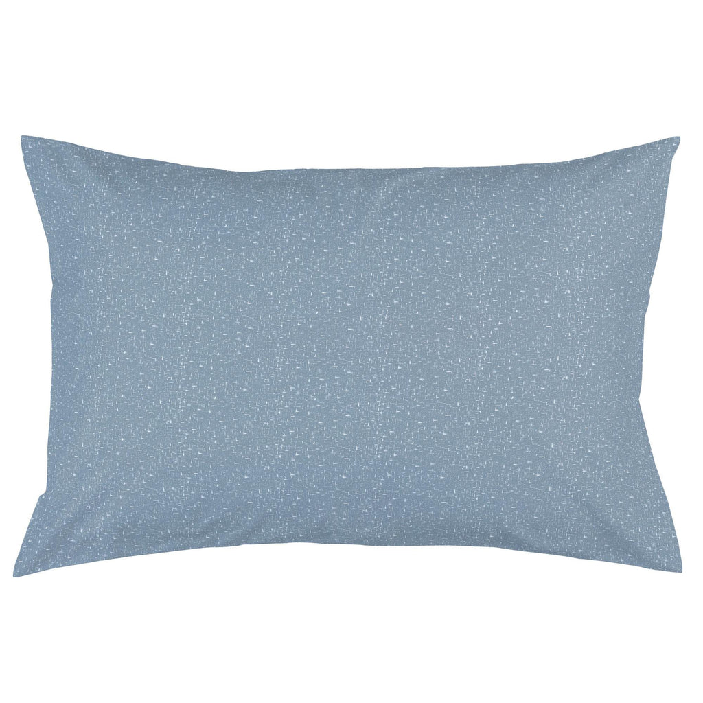 Product image for Steel Blue Heather Pillow Case