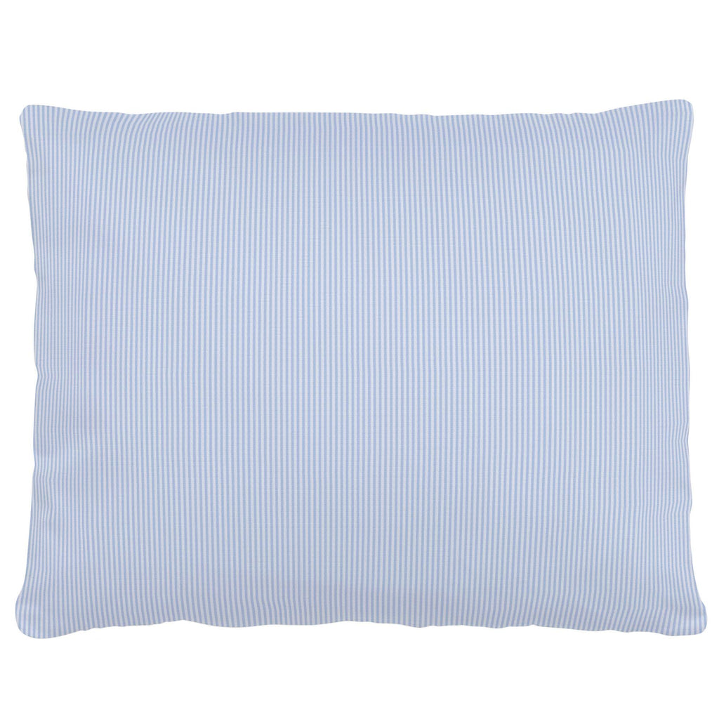 Product image for Blue Mini-Stripe Accent Pillow