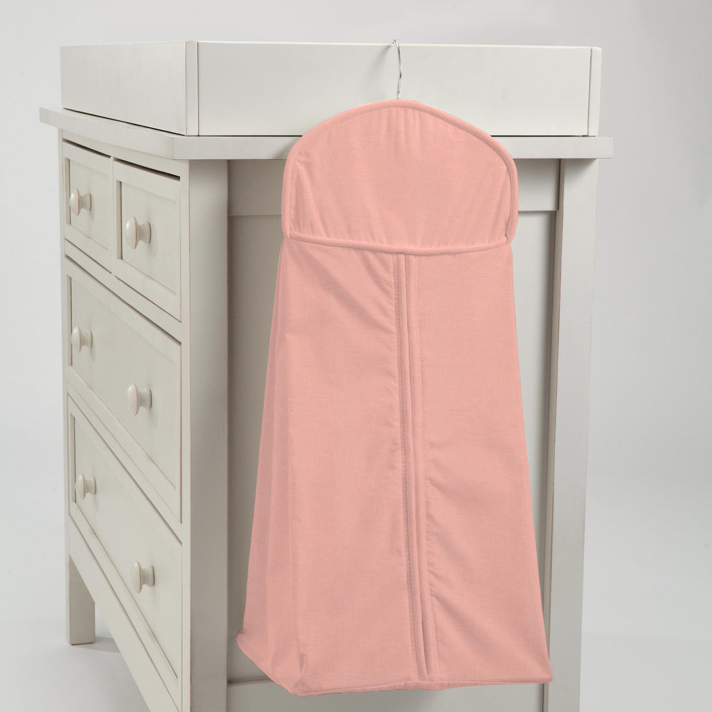 Product image for Solid Light Coral Diaper Stacker