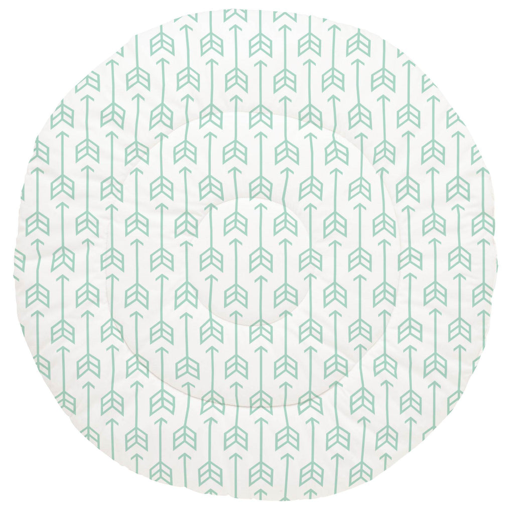 Product image for Mint Arrow Baby Play Mat