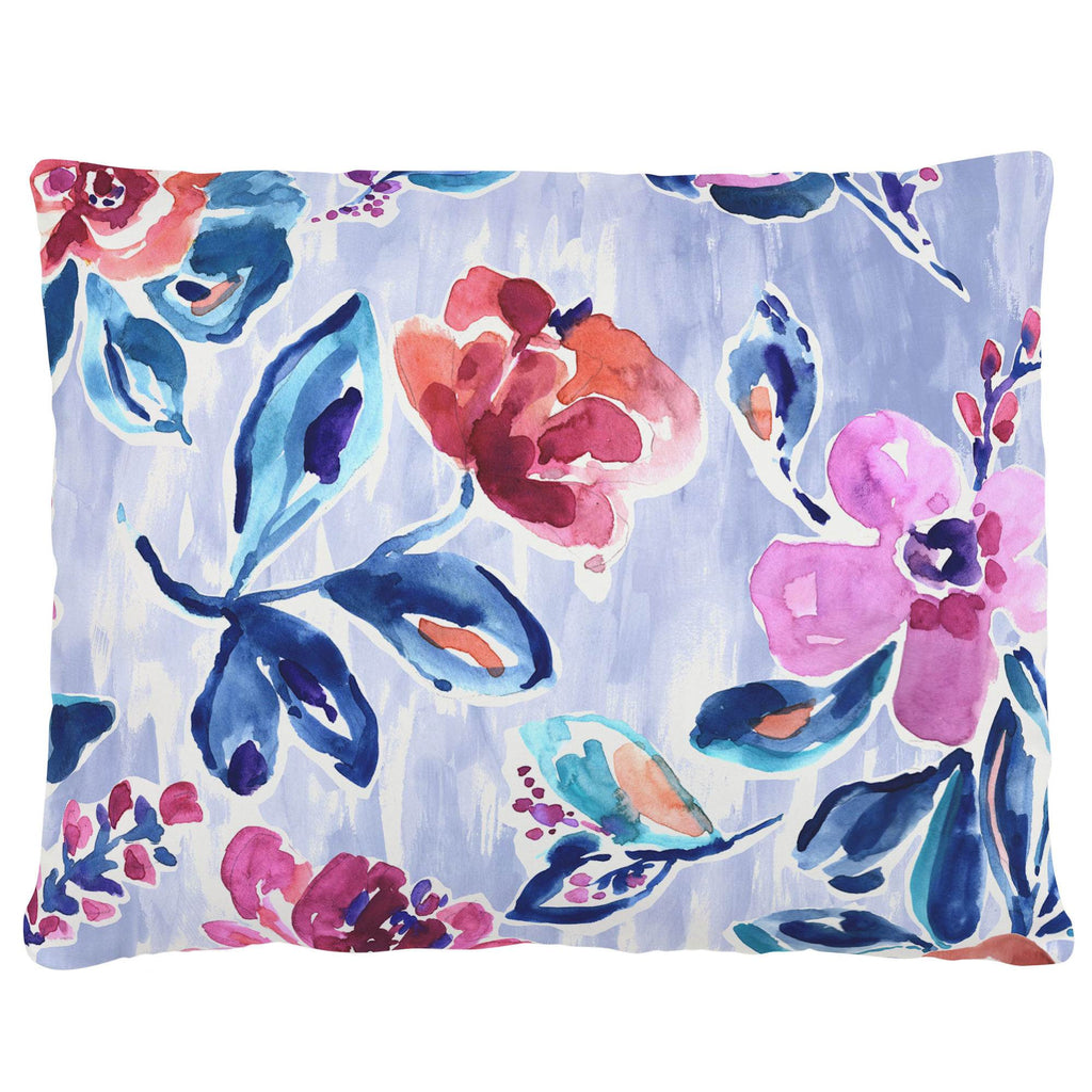 Product image for Pink and Lavender Garden Accent Pillow