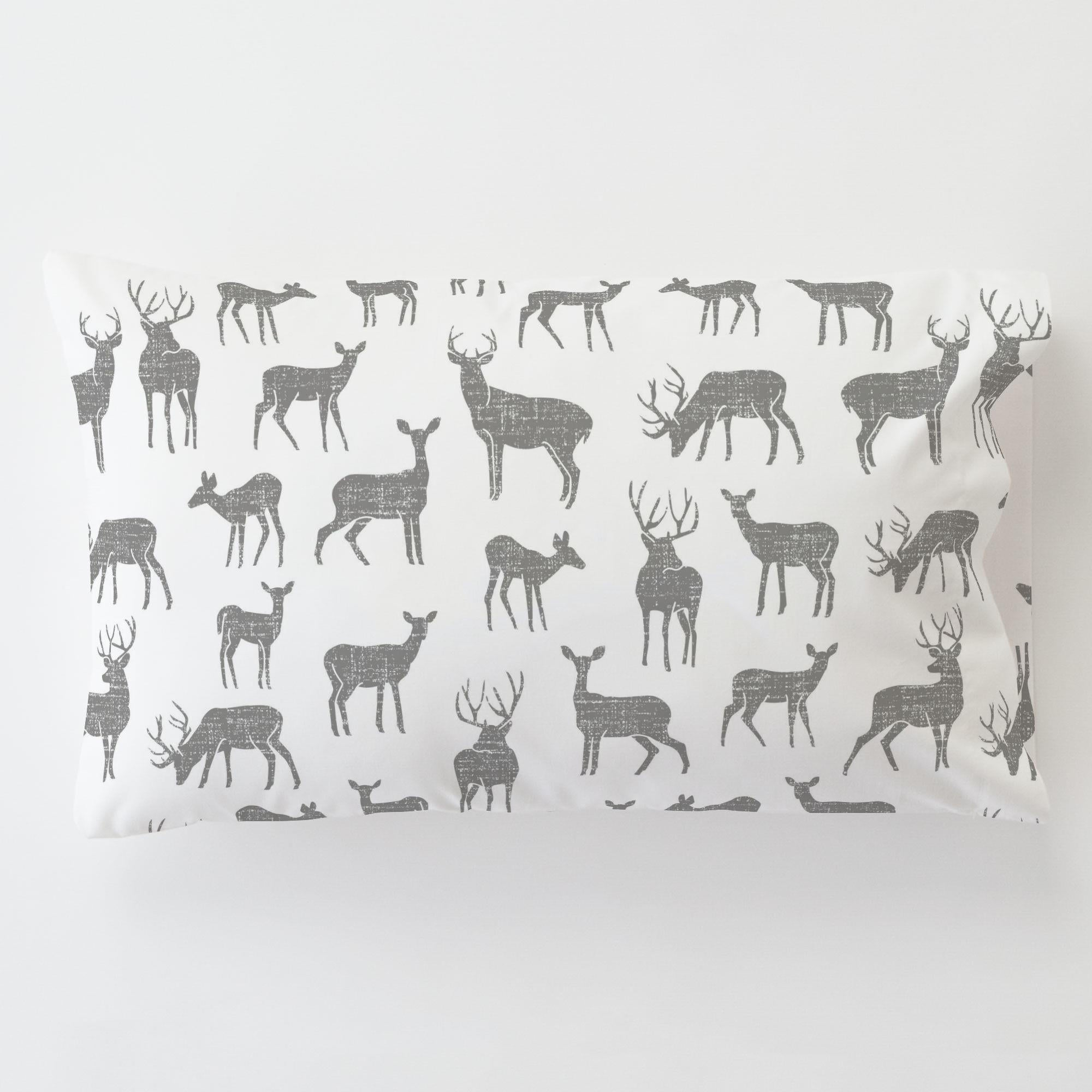 Carousel Designs Cloud Gray Deer Cradle Sheet