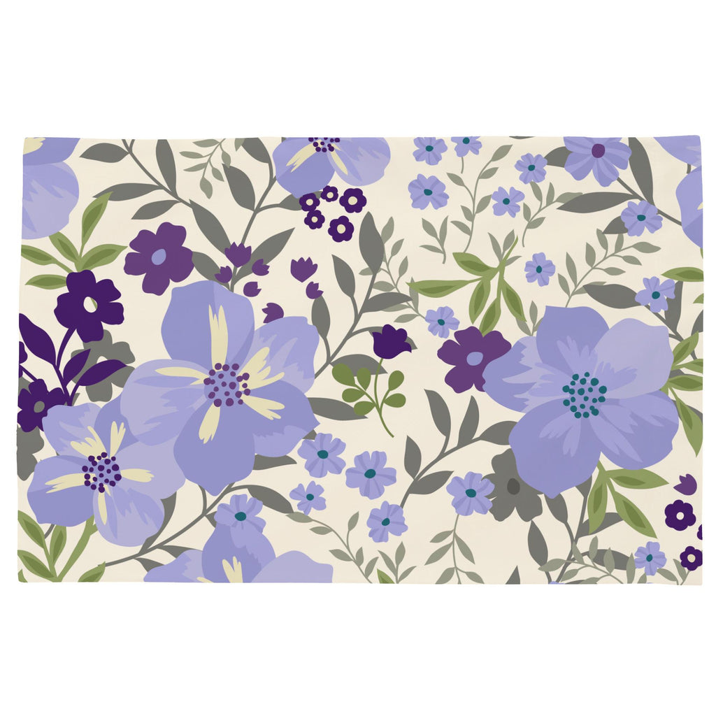 Product image for Lavender Floral Tropic Toddler Pillow Case