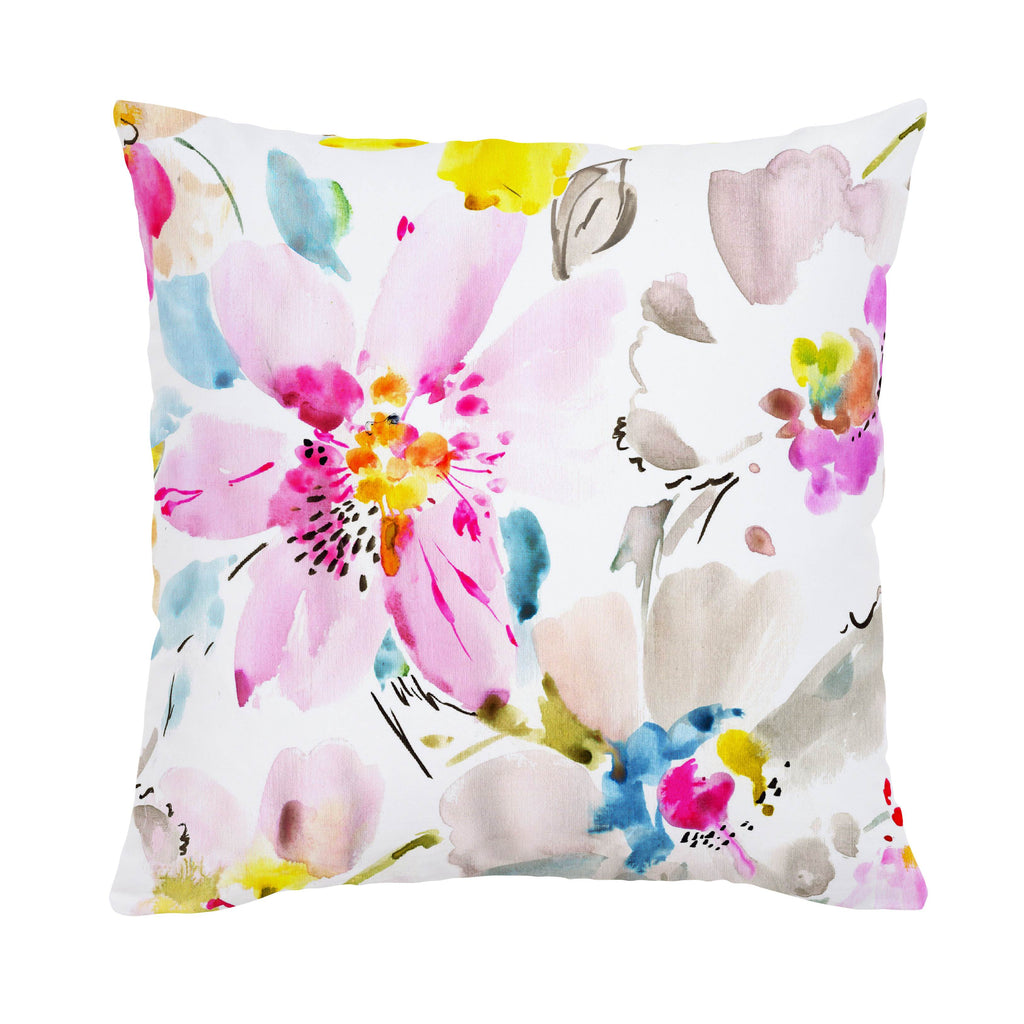 Product image for Watercolor Floral Throw Pillow