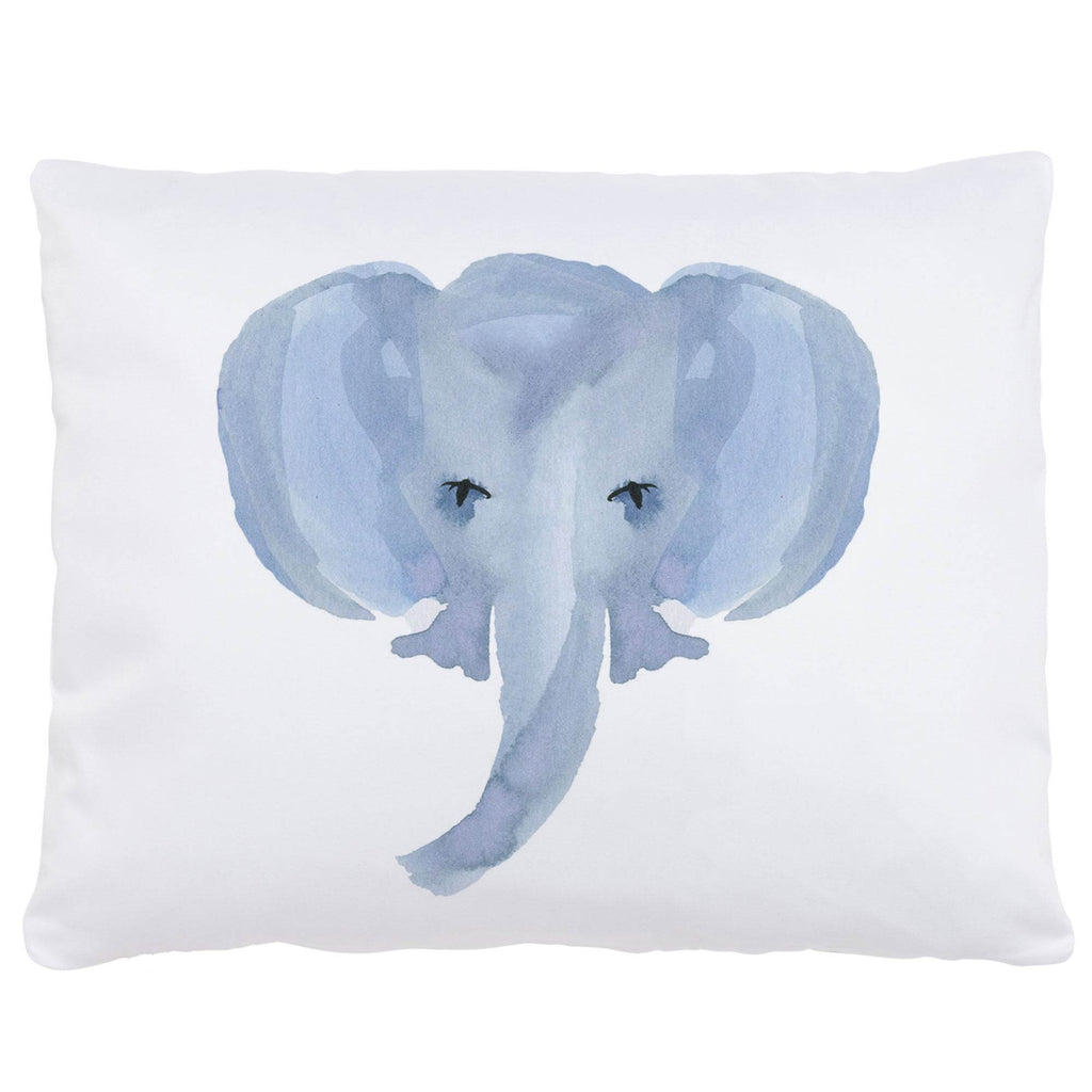 Product image for Painted Elephant Centerpiece Accent Pillow
