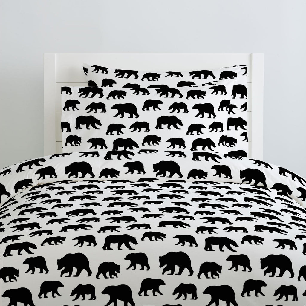 Product image for Onyx Bears Duvet Cover