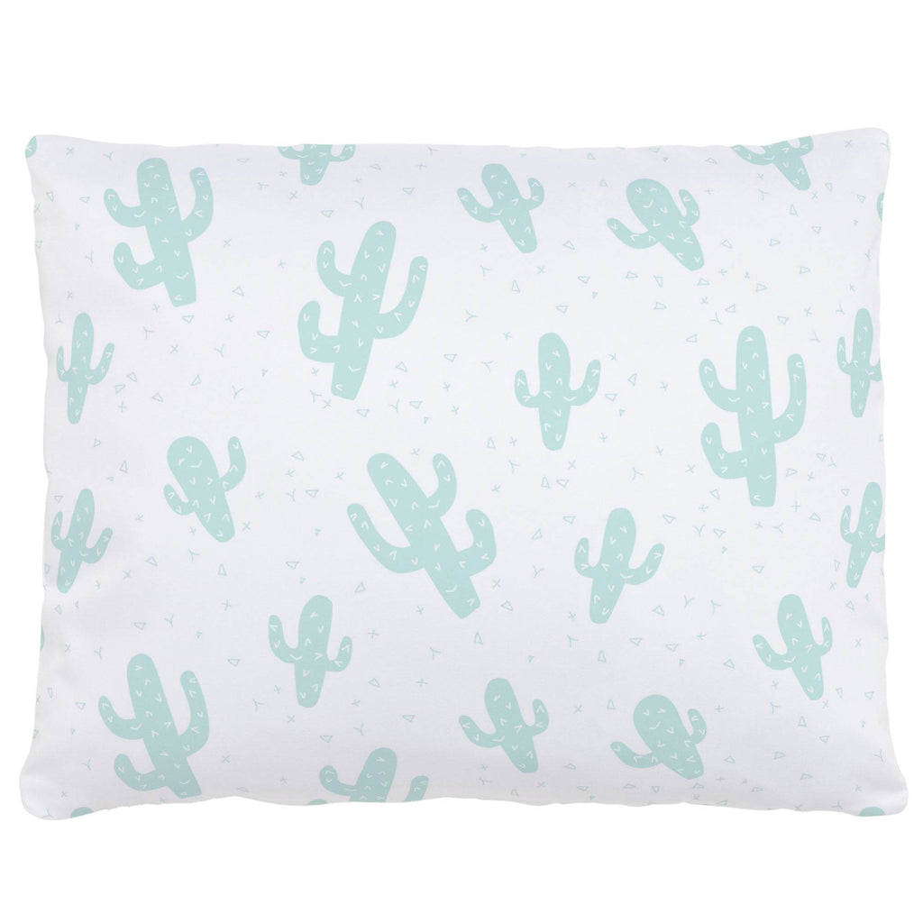Product image for Icy Mint Cactus Accent Pillow