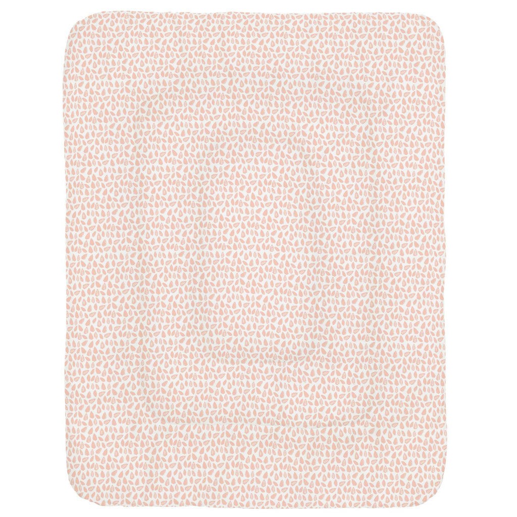 Product image for Peach Woodland Leaf Crib Comforter