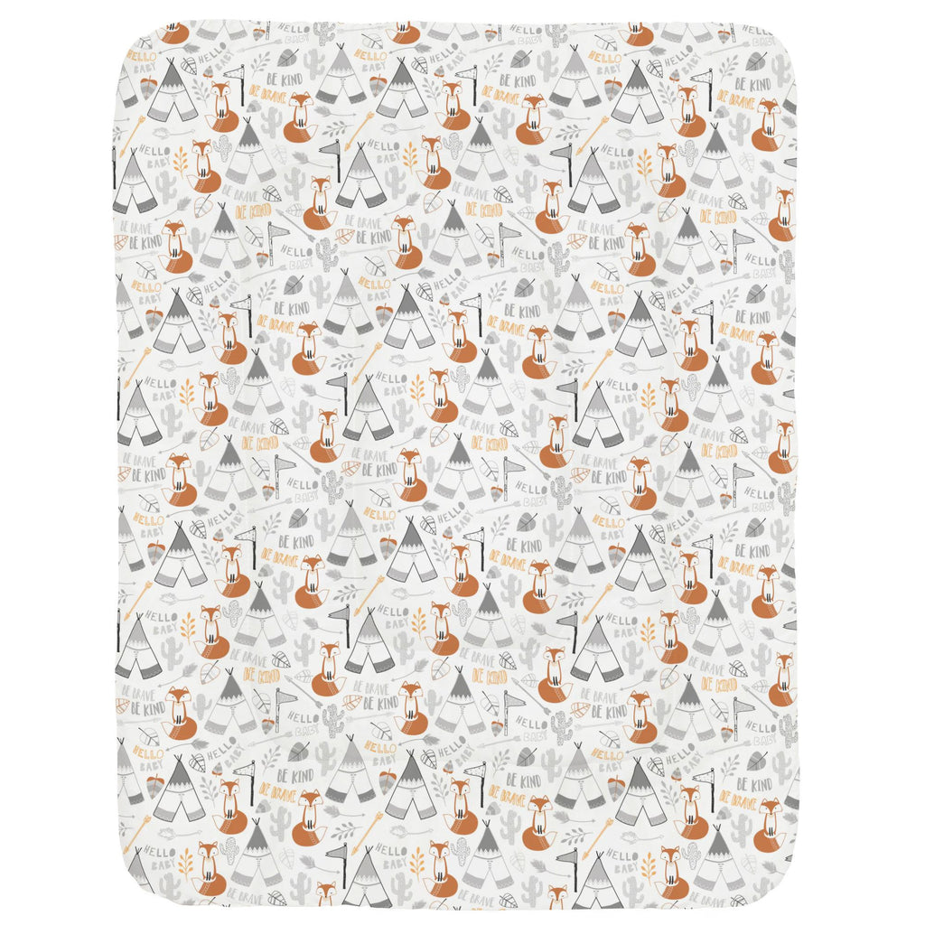 Product image for Brave Fox Crib Comforter