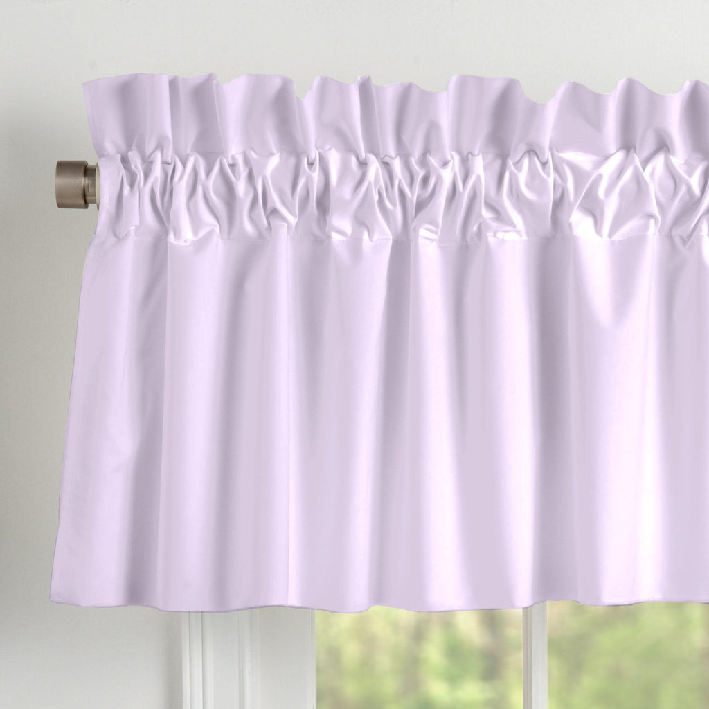 Product image for Solid Lilac Window Valance