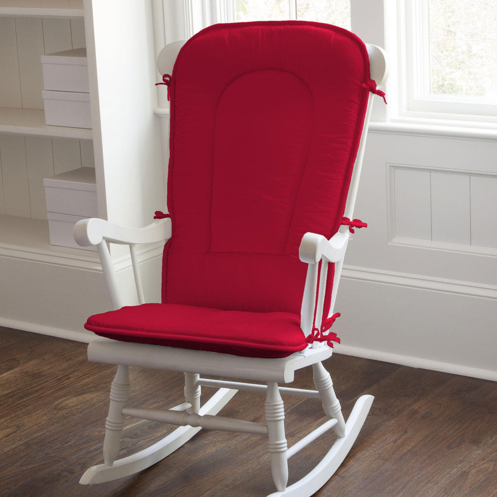 Product image for Solid Red Rocking Chair Pad
