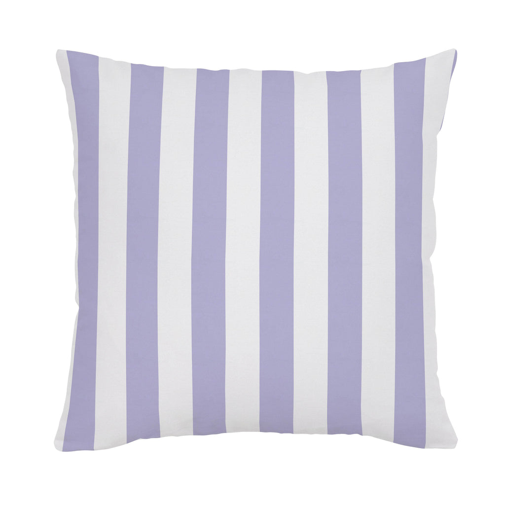 Product image for Lilac Stripe Throw Pillow