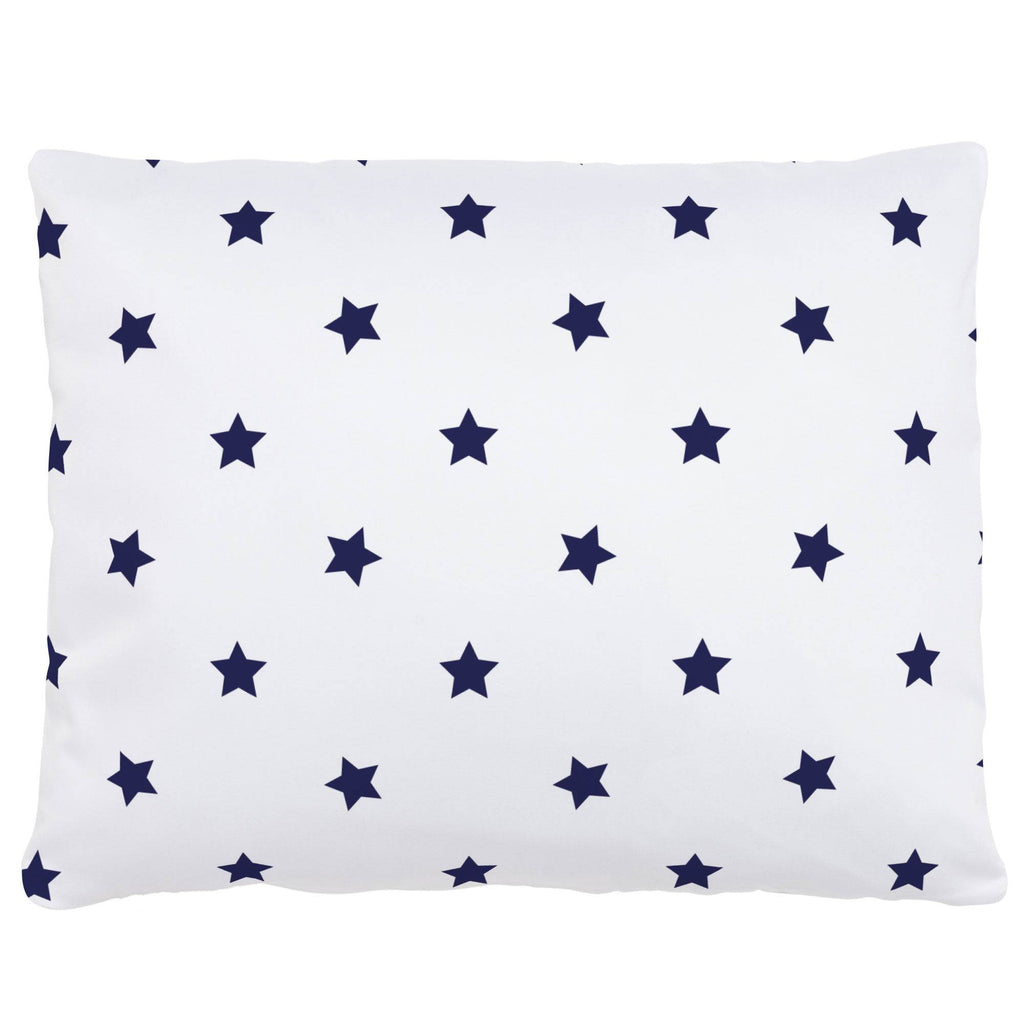 Product image for Navy Stars Accent Pillow