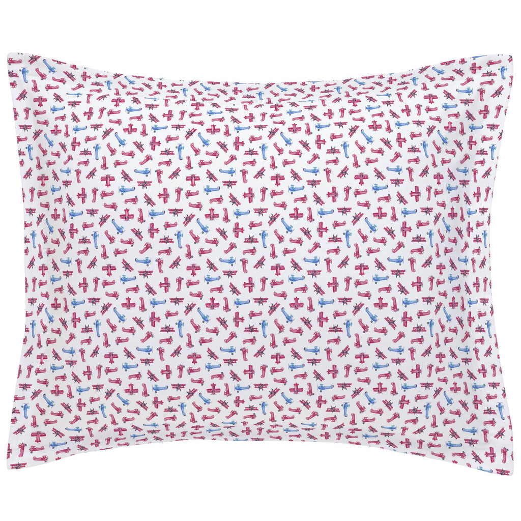 Product image for Tiny Airplanes Pillow Sham