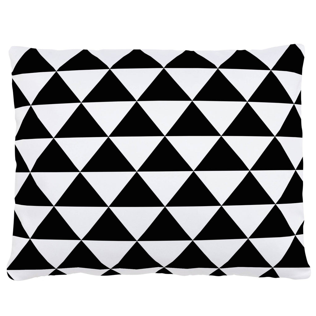 Product image for Onyx Triangle Stack Accent Pillow