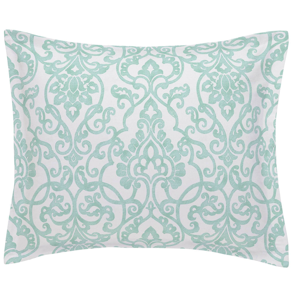 Product image for Mint Filigree Pillow Sham