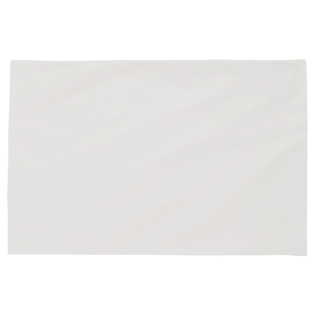 Product image for Solid White Toddler Pillow Case
