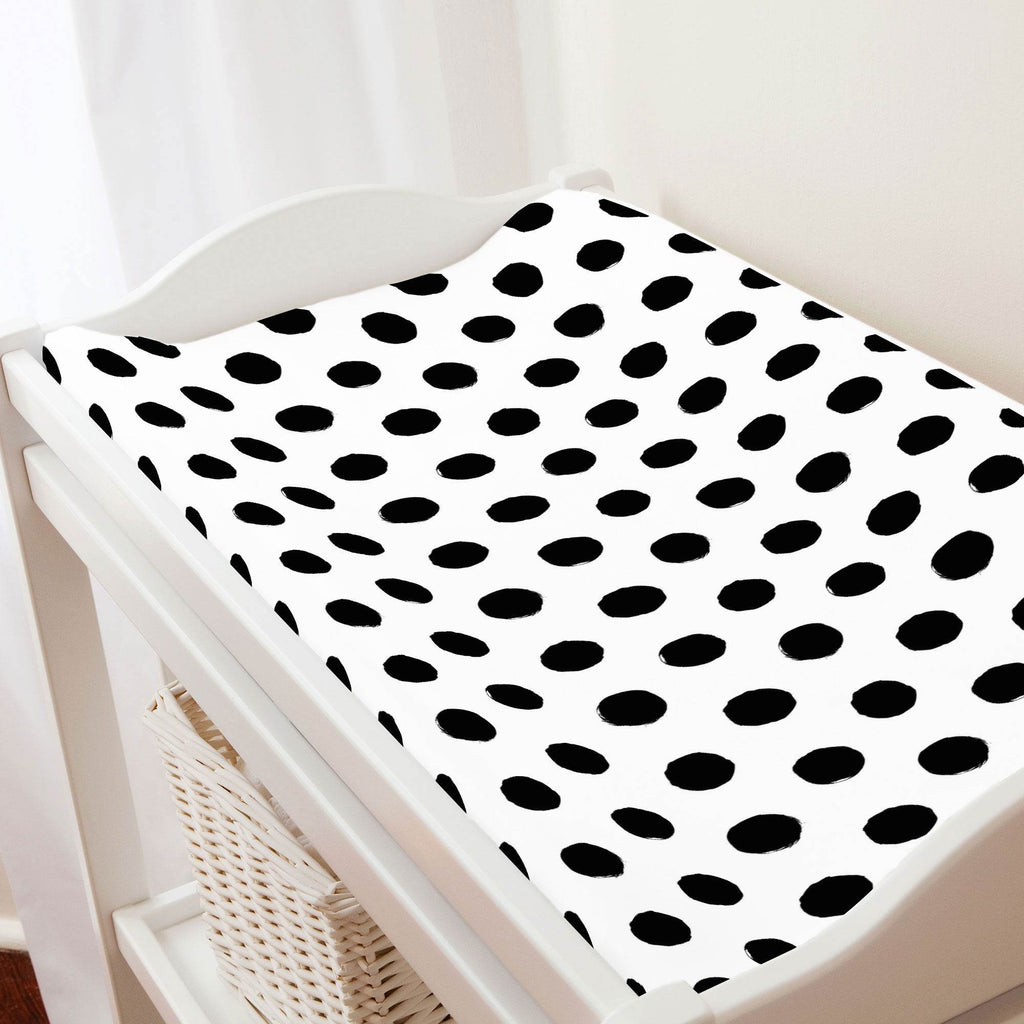 Product image for Onyx Brush Dots Changing Pad Cover