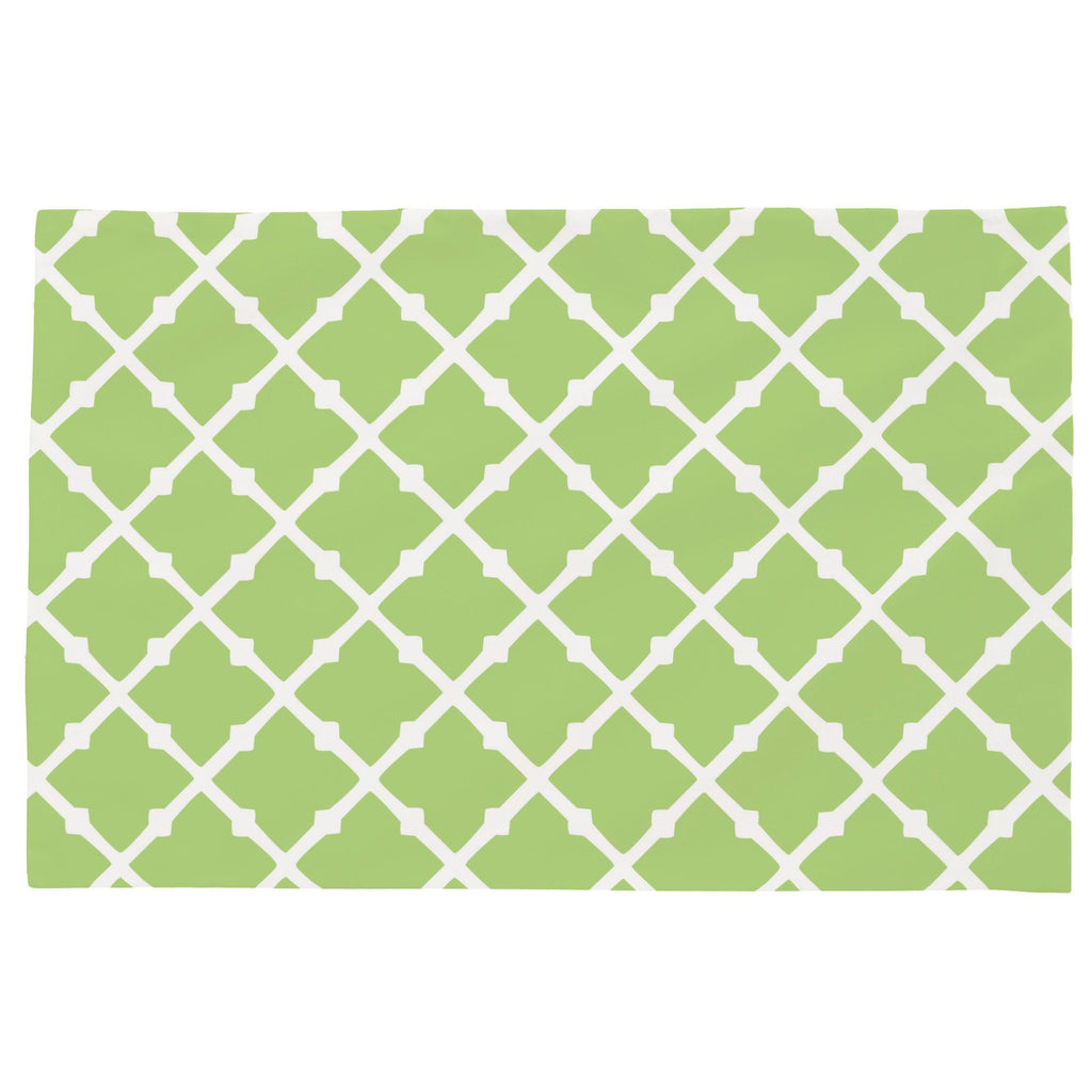Product image for Kiwi Lattice Toddler Pillow Case