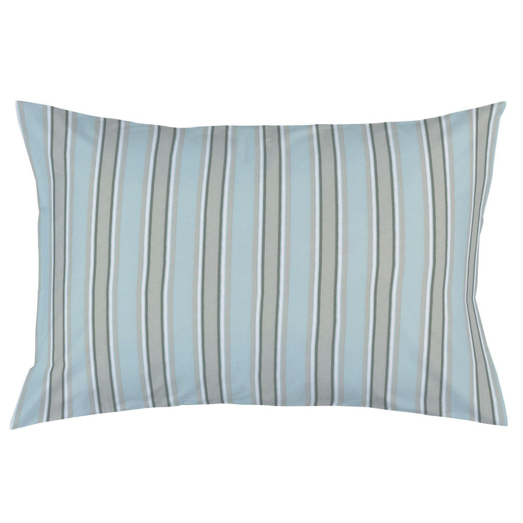 Product image for Mist and Gray Stripe Pillow Case