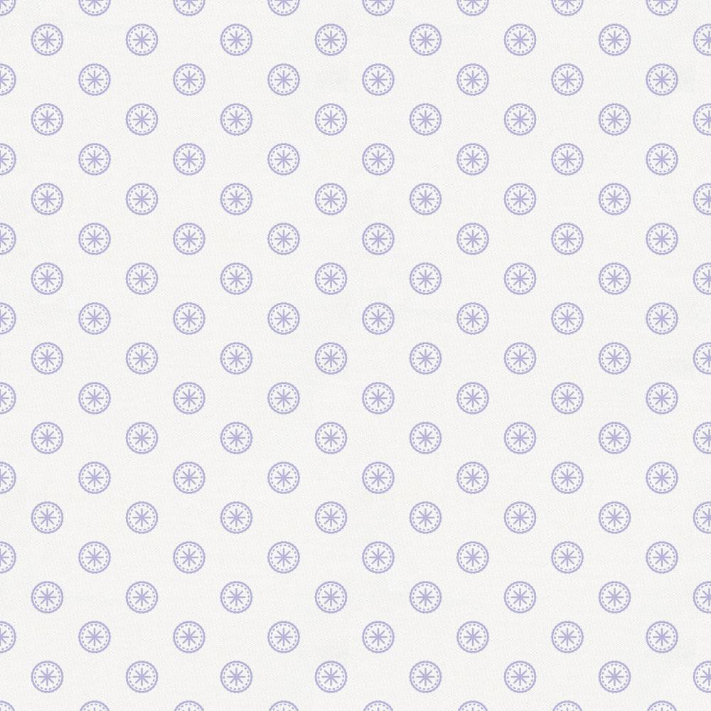 Product image for Lilac Tiny Medallion Cradle Sheet