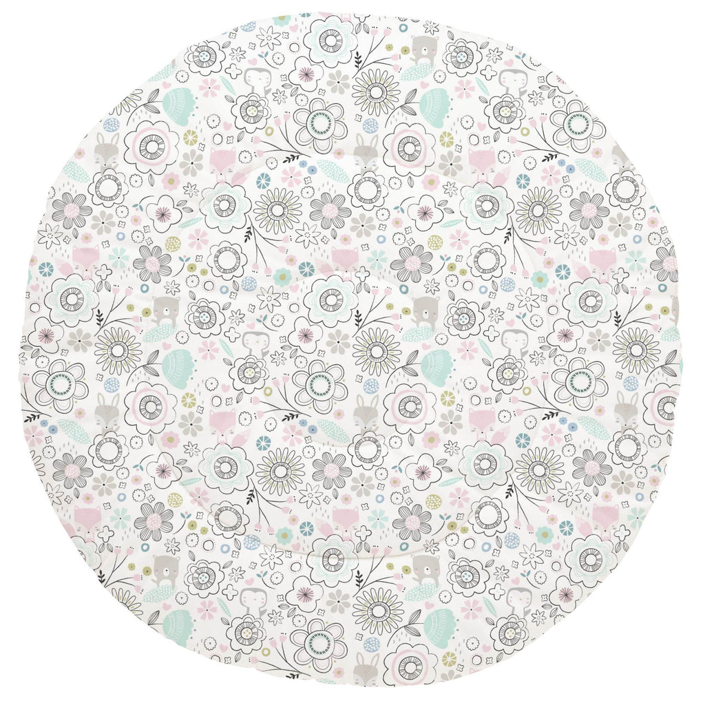 Product image for Pink Spring Doodles Baby Play Mat