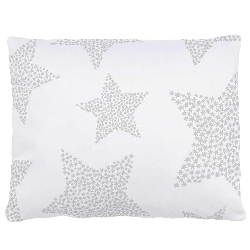 Product image for French Gray Galaxy Stars Accent Pillow