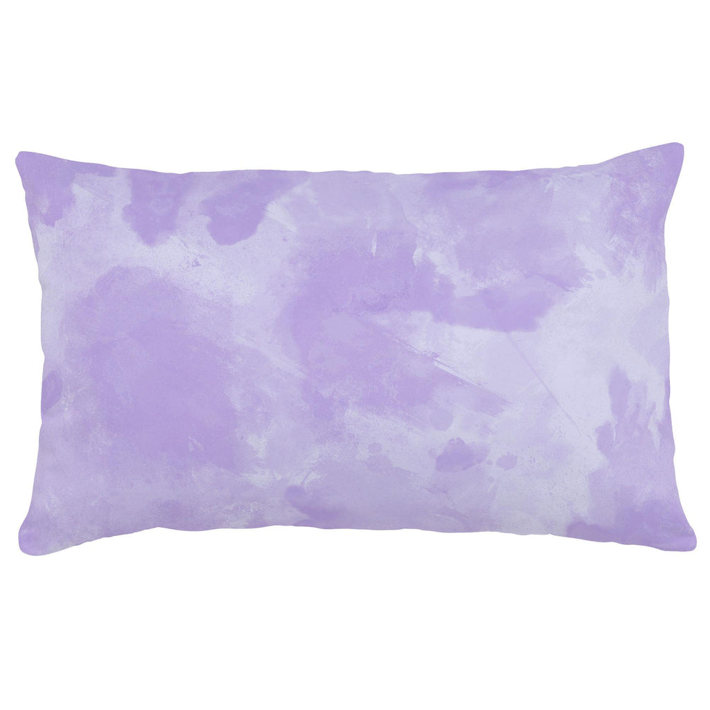 Product image for Lilac Watercolor Lumbar Pillow