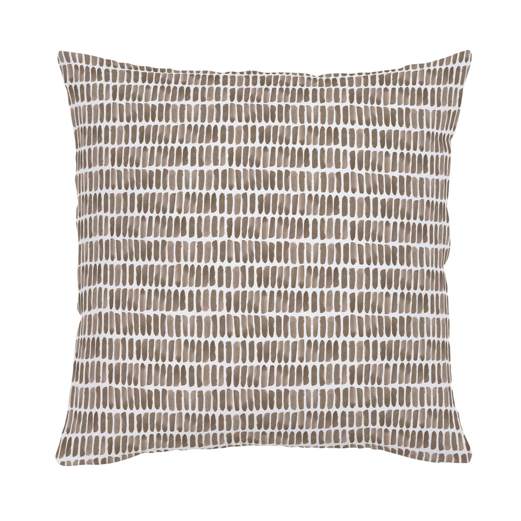 Product image for Mocha Forest Sticks Throw Pillow