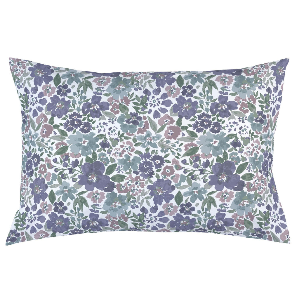 Product image for Purple Prairie Floral Pillow Case