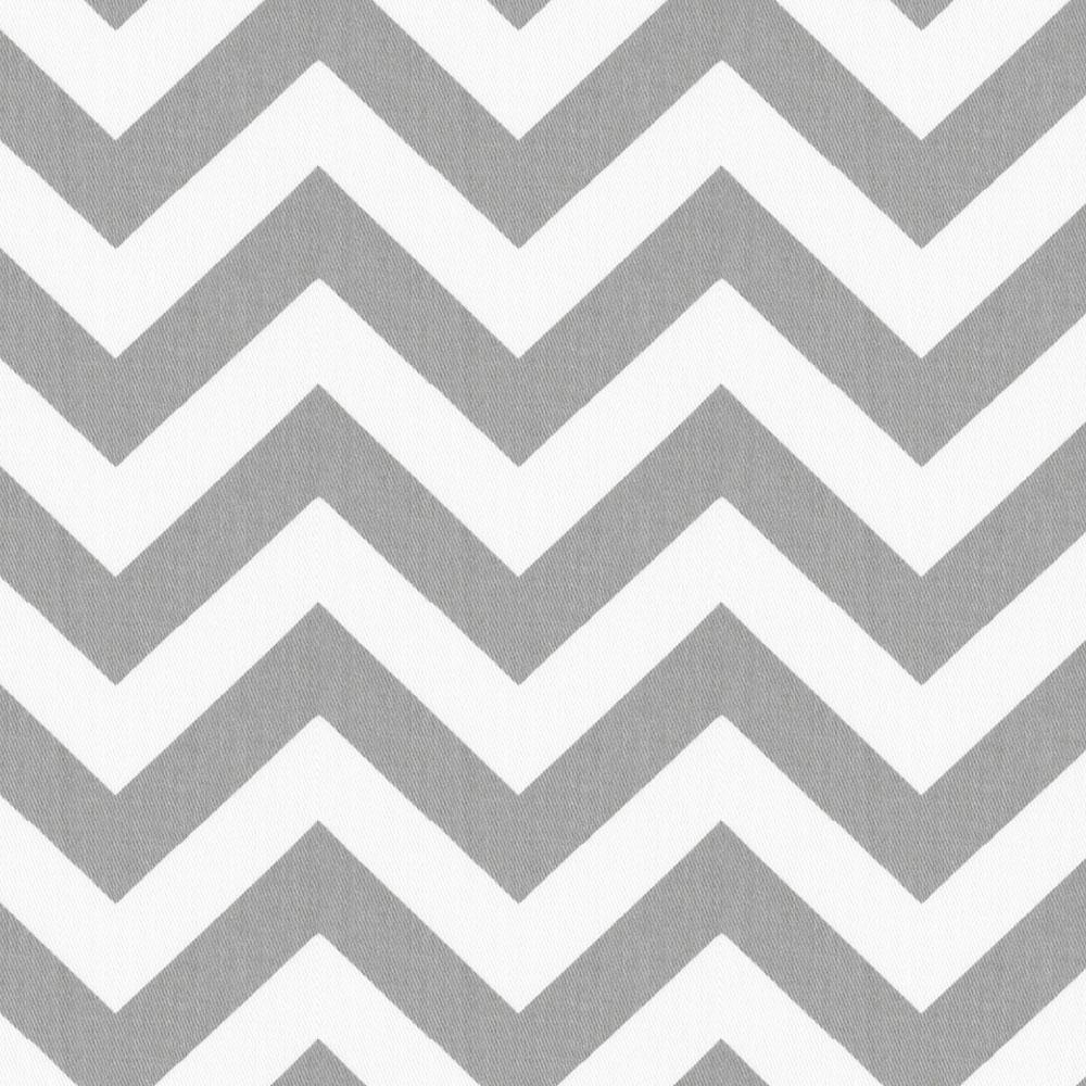 Product image for White and Gray Zig Zag Cradle Sheet