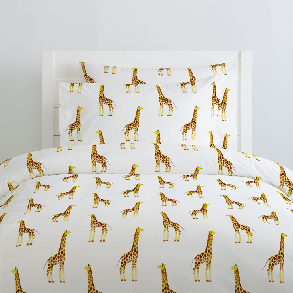 Product image for Painted Giraffe Duvet Cover