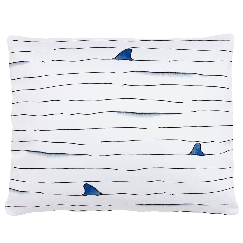Product image for Shark Fin Stripe Accent Pillow