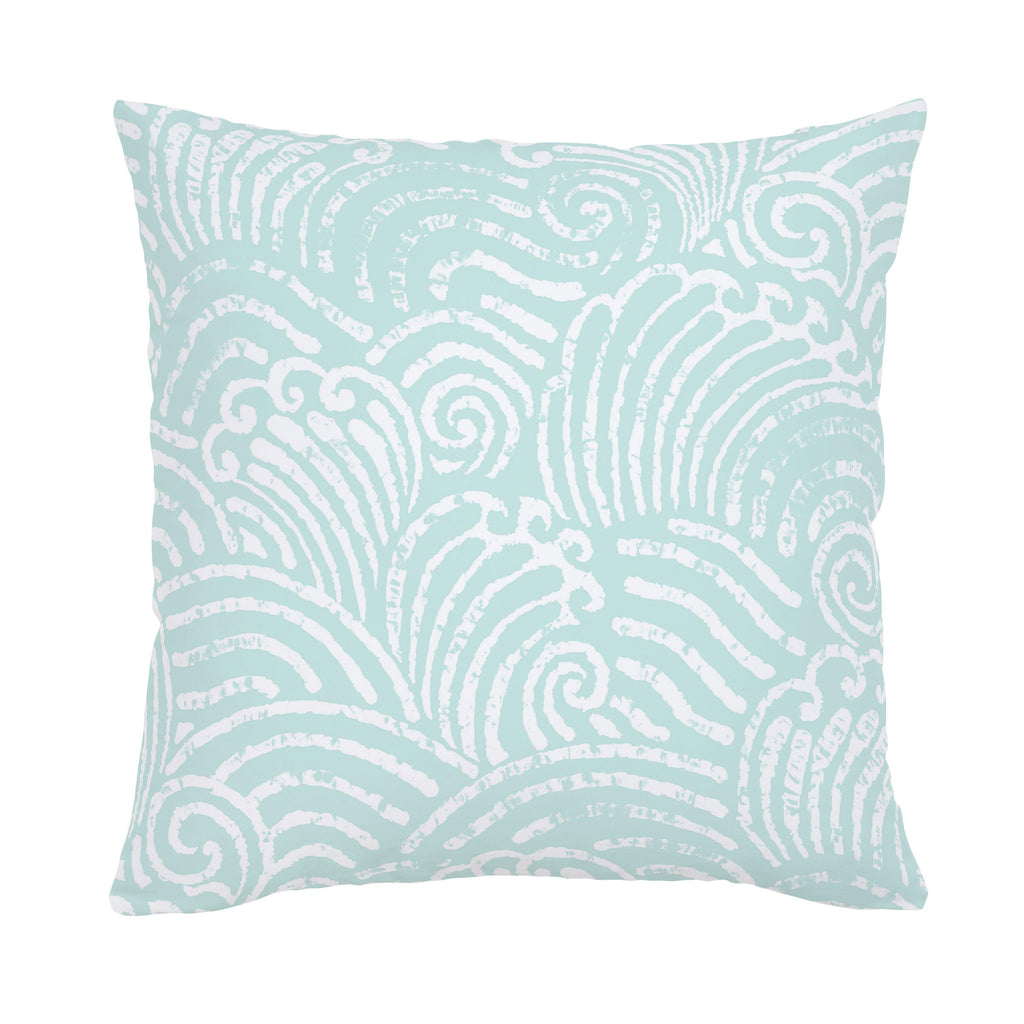 Product image for Icy Mint Seas Throw Pillow