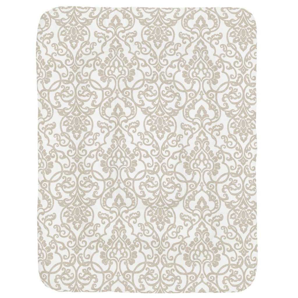 Product image for Taupe Filigree Crib Comforter