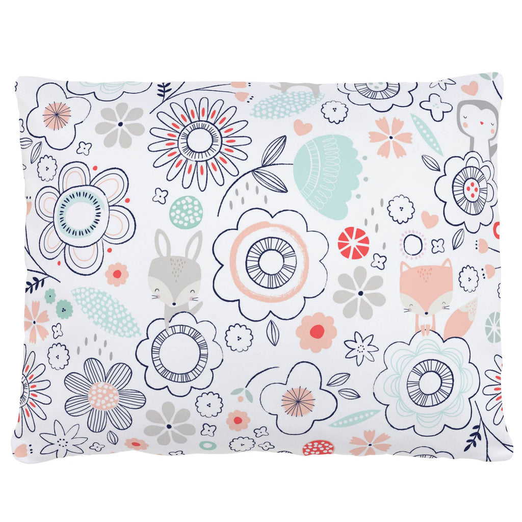 Product image for Coral Spring Doodles Accent Pillow