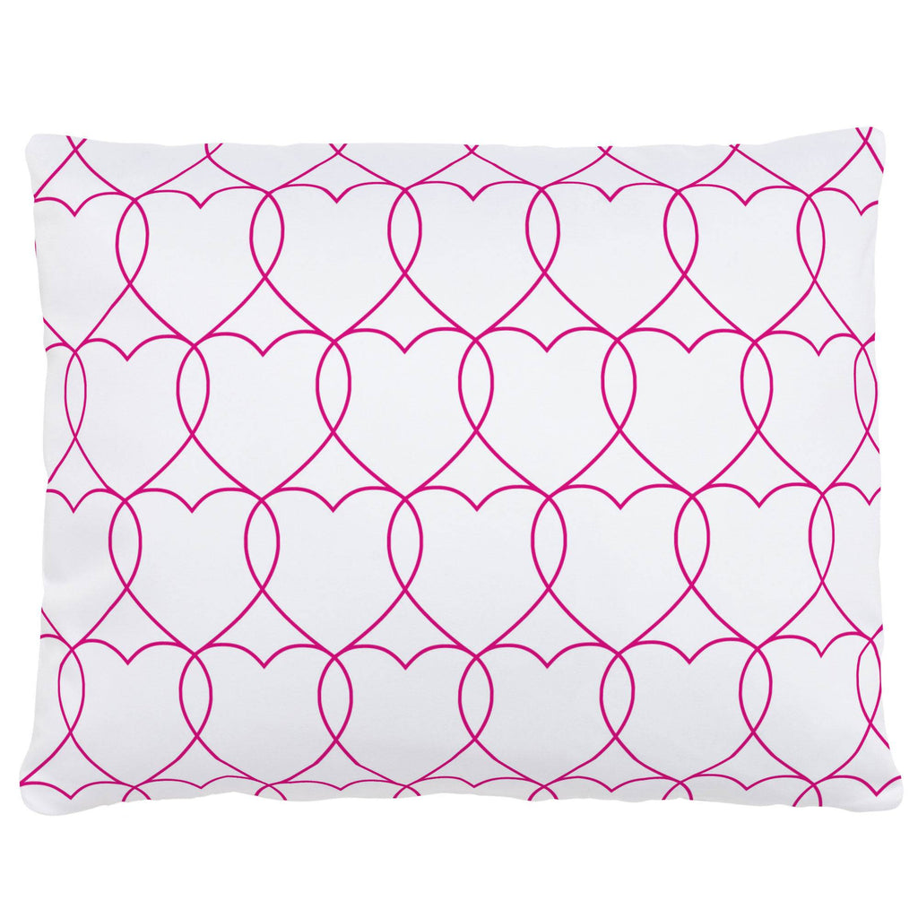 Product image for Fuchsia Sweetheart Accent Pillow