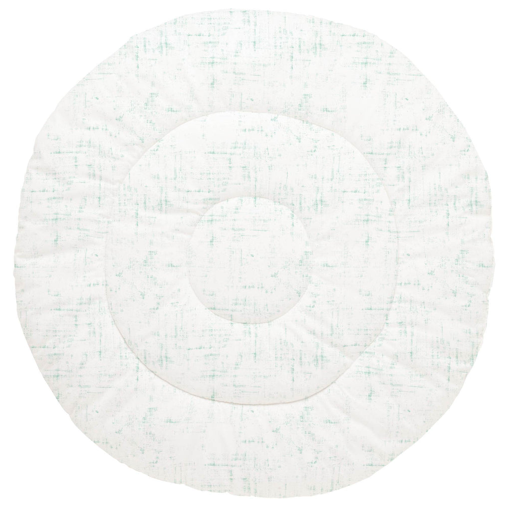 Product image for Mint Distressed Baby Play Mat