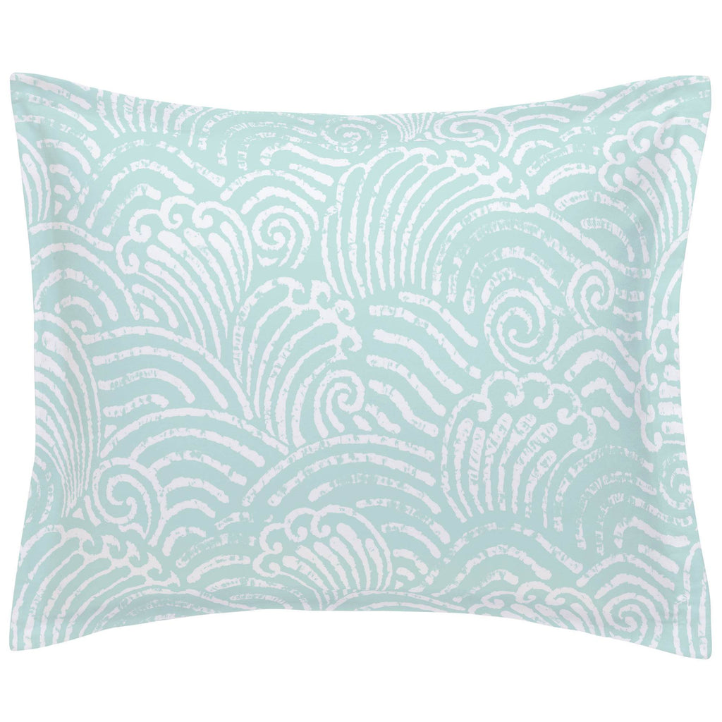 Product image for Icy Mint Seas Pillow Sham