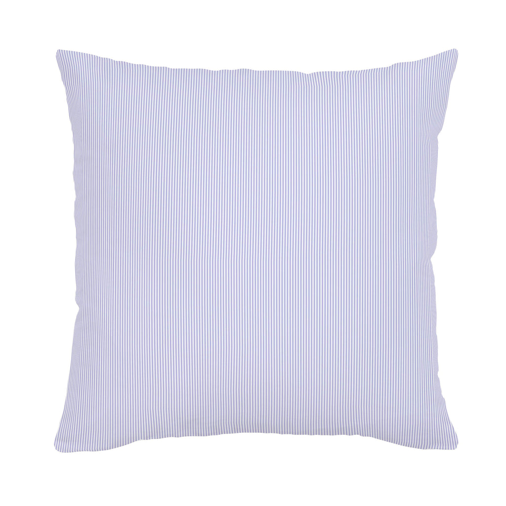 Product image for Lilac Mini Stripe Throw Pillow