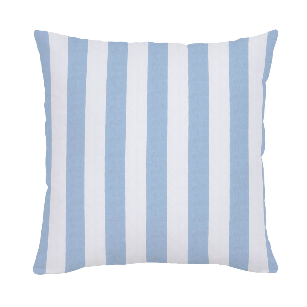Product image for Blue Giddy Stripe Throw Pillow