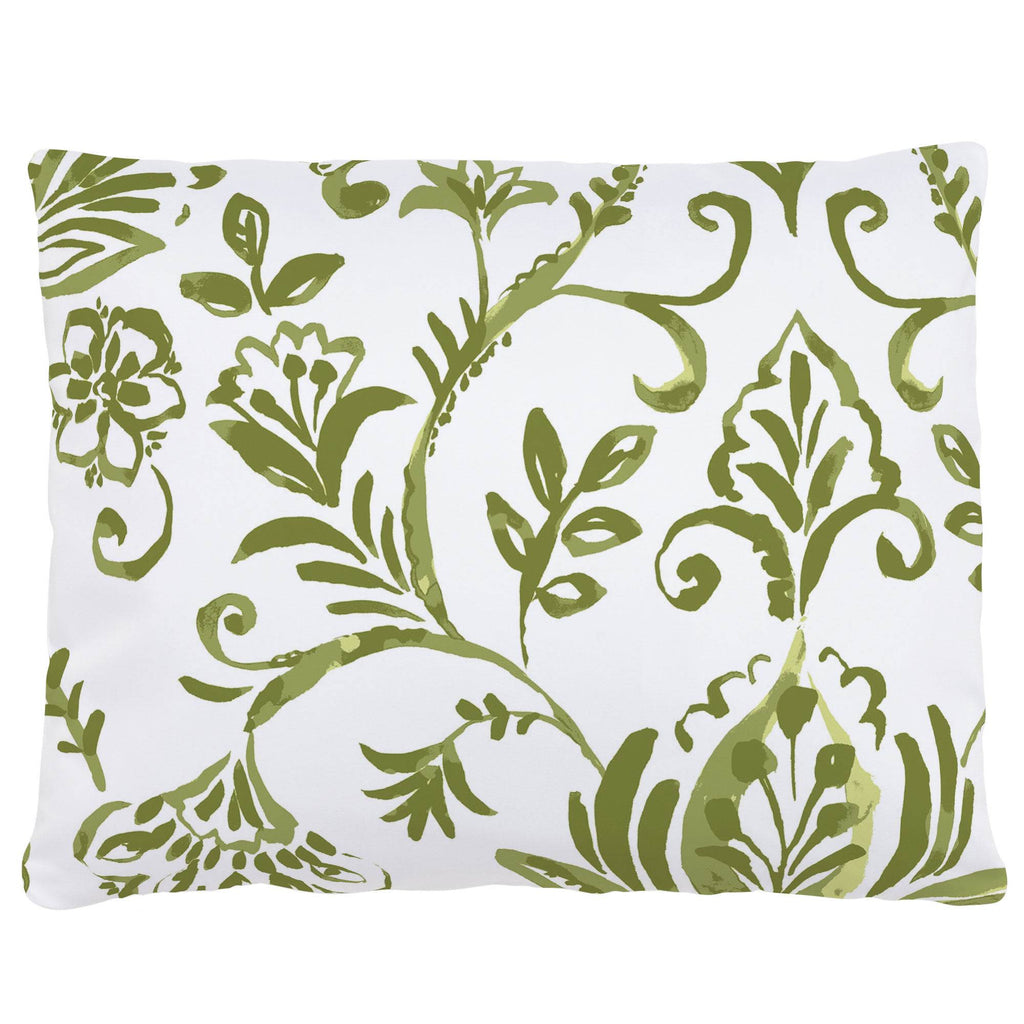 Product image for Sage Coastal Damask Accent Pillow